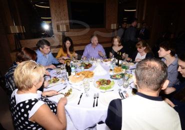 gala dinner Гала ужин в отеле Crowne Plaza
