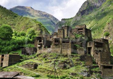 Хевсурети - местность в горной части Грузии