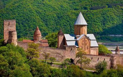 крепость Ананури, Грузия, туры в Грузию, отдых в Грузии, 2018, georgia travel