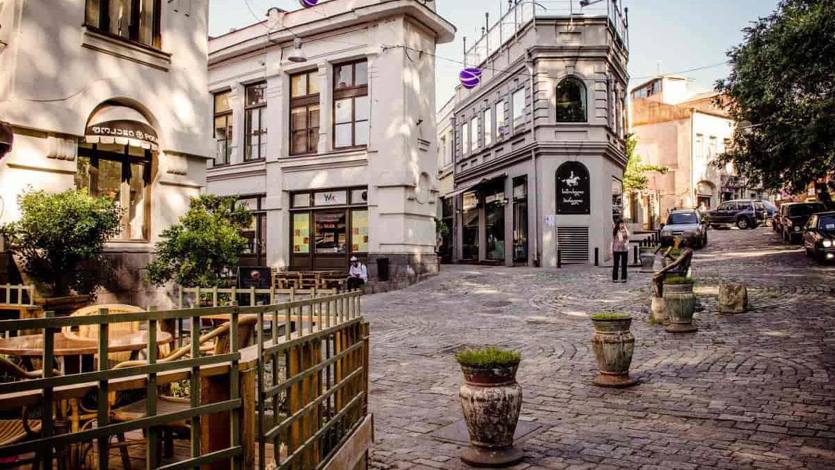 Тбилиси, ул. Шардены, Грузия, туры в Грузию, отдых в Грузии, 2018, georgia travel