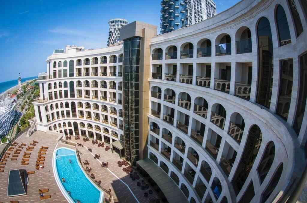 Colosseum Marina Hotel, Батуми, отели, море, Грузия