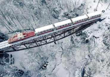 Поезд, Боржоми, Бакуриани, Грузия