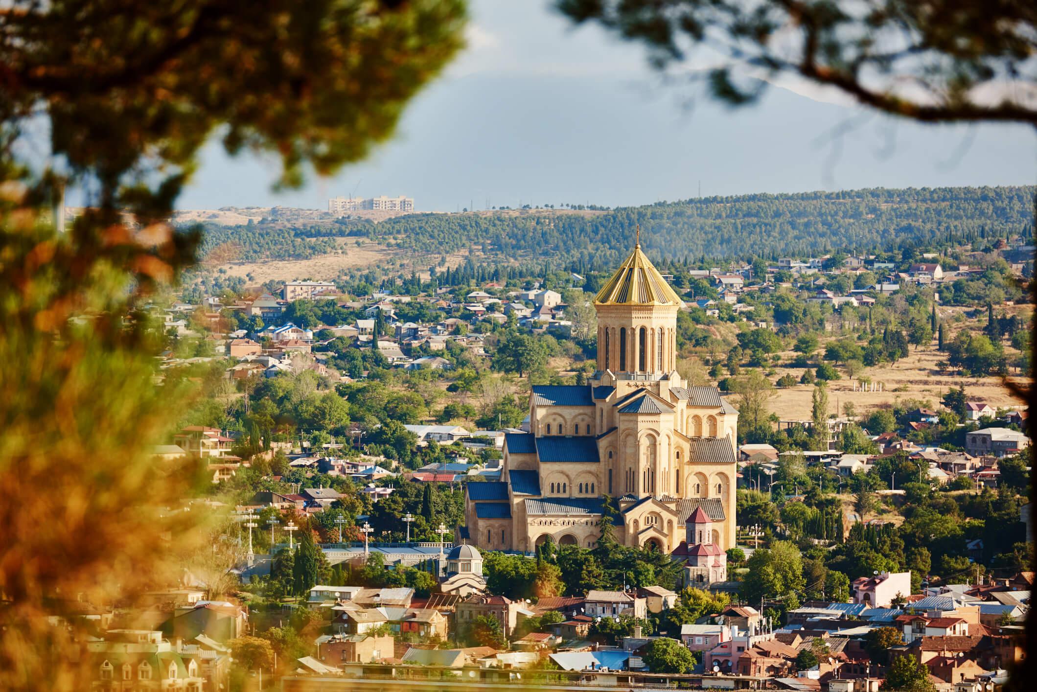 церковь Самеба, Грузия, Что посмотреть в Грузии