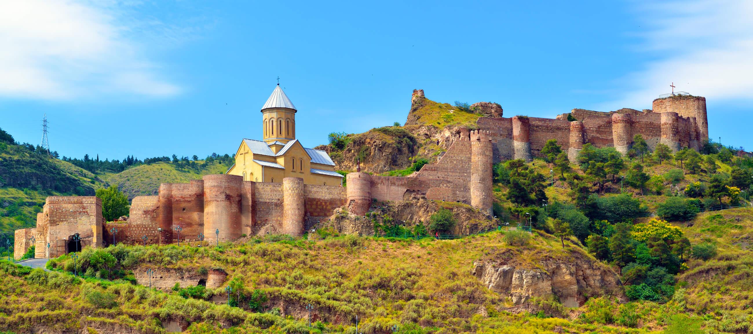 Крепость Нарикала, Грузия, Что посмотреть в Грузии