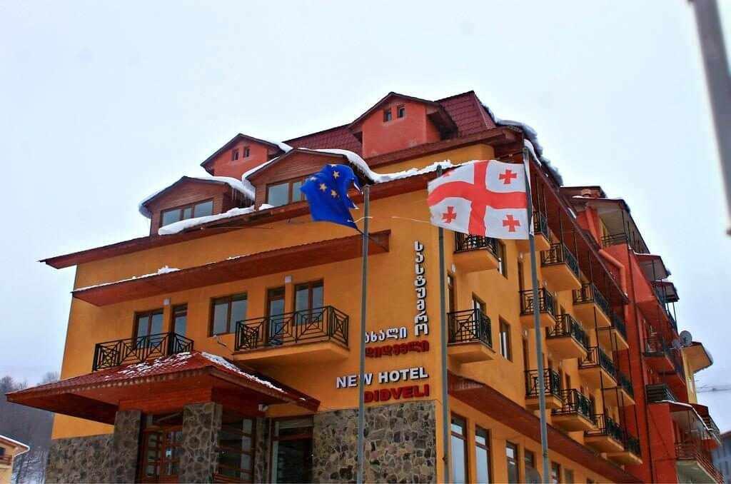 New Didveli Hotel Bakuriani, Бакуриани, отели Грузии, отдых в Грузии