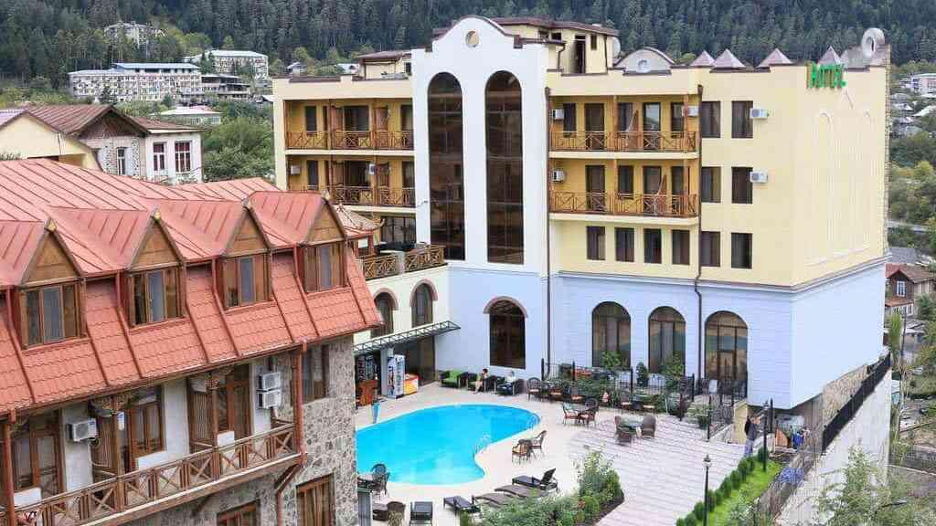 Borjomi Palace Spa Hotel & Resort, Боржми, отели Грузии, отдых в Грузии