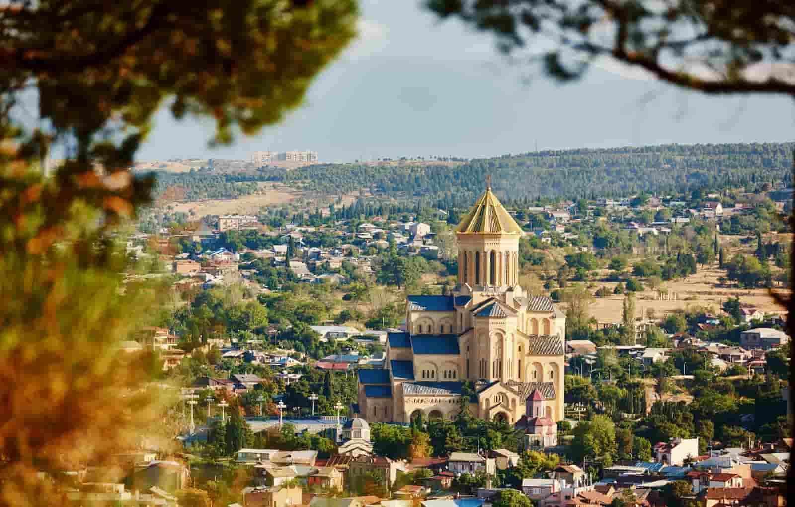 Собор Цминда Самеба, Тбилиси, собор Пресвятая Троица