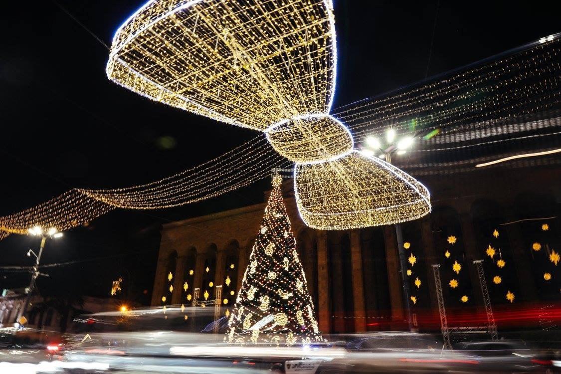 Новый год, 2018, Тбилиси, Грузия