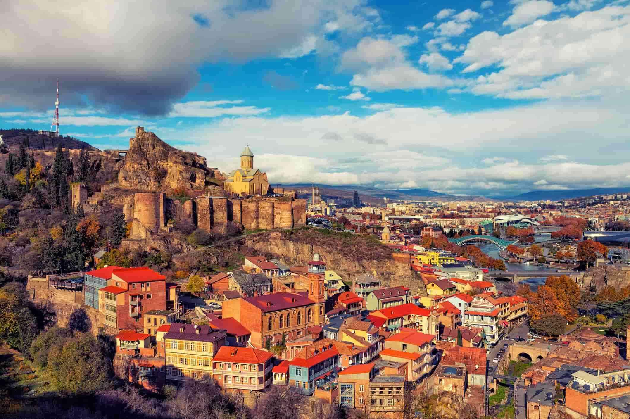 Старый город Тбилиси, Храм Метехи