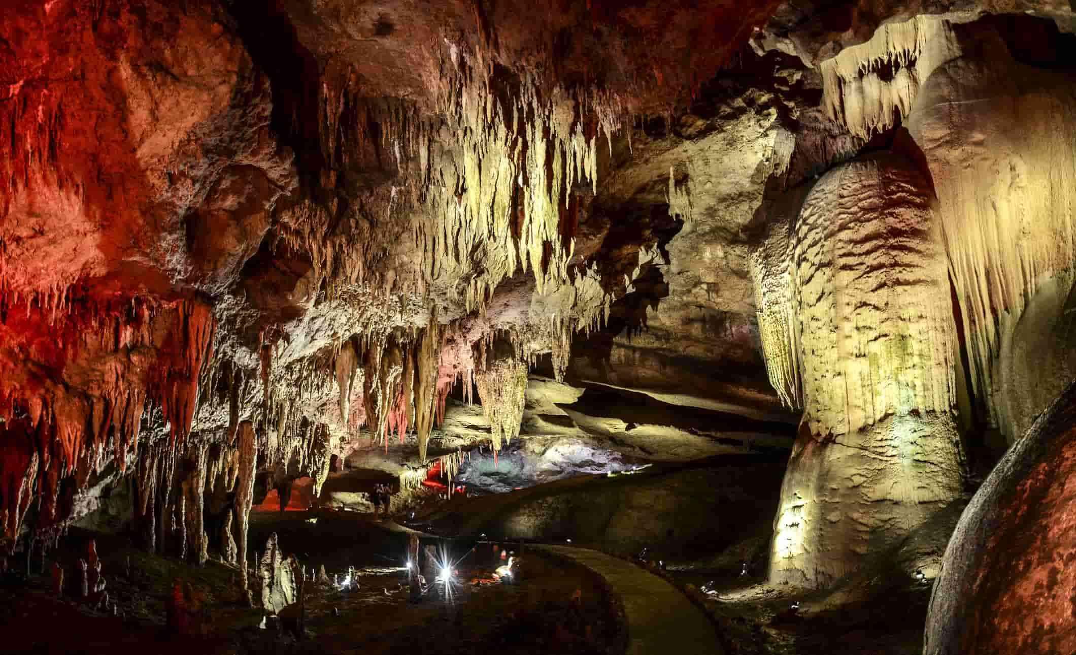 Пещера Прометея, пещера Кумистави, Цхалтубо, Грузия