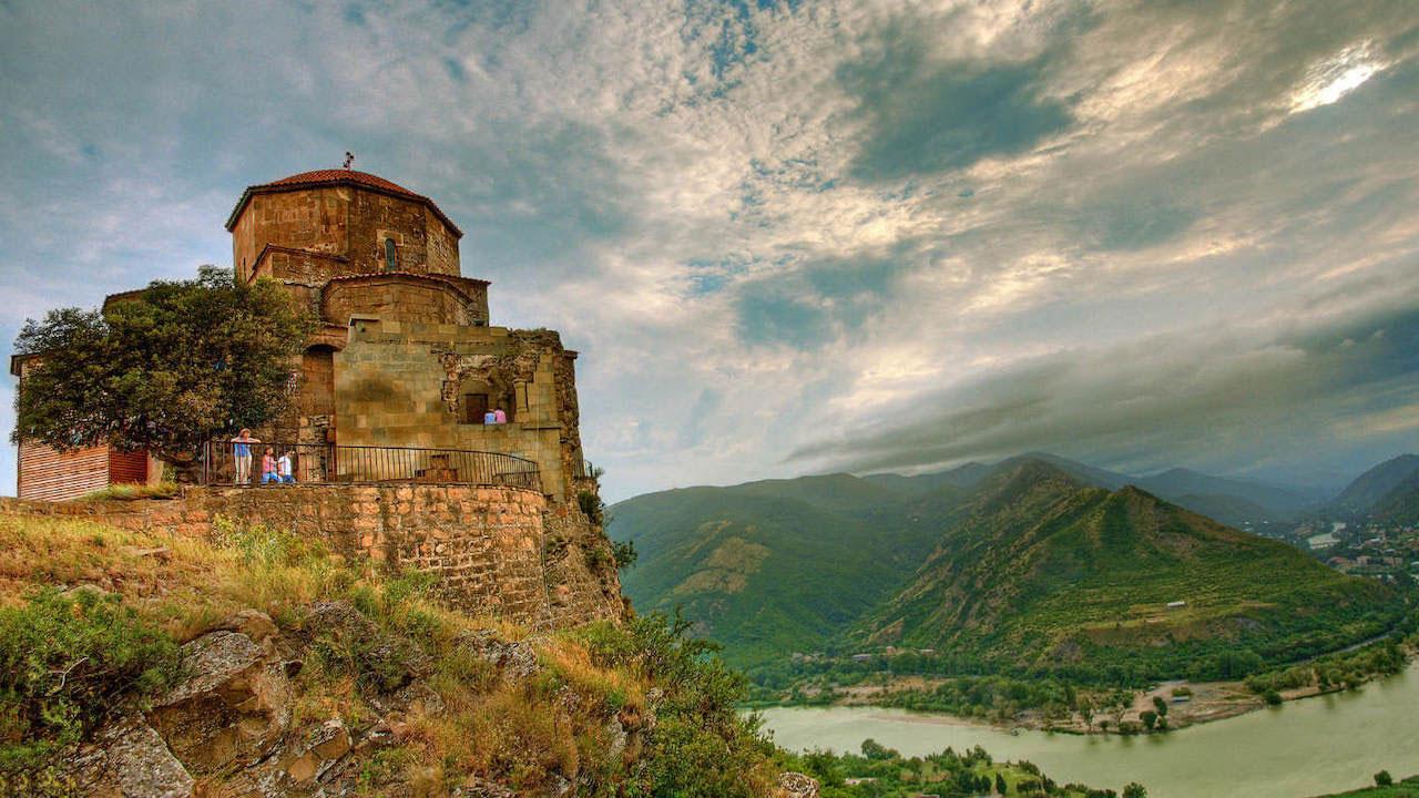 монастырь Джвари, Мцхета, Грузия