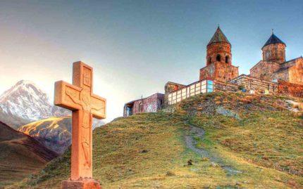 Монастырь Гергети, Казбеги, Грузия