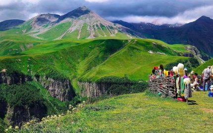 Кавказские горы, Казбеги, Грузия