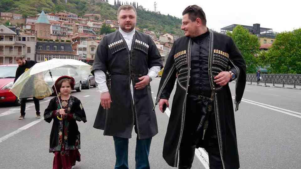 День национального костюма в Грузии