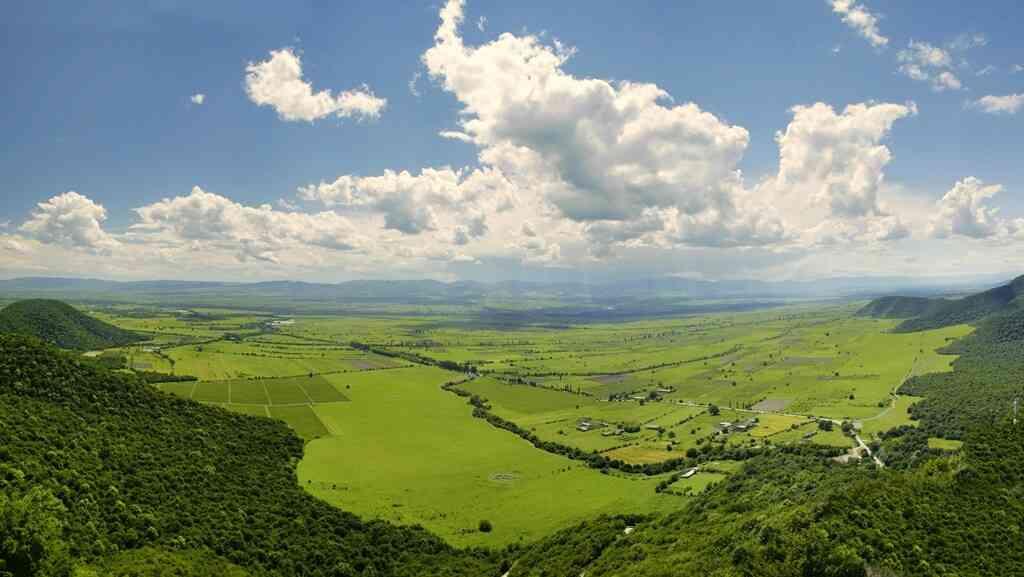 Алазанская долина, Кахетия, Грузия