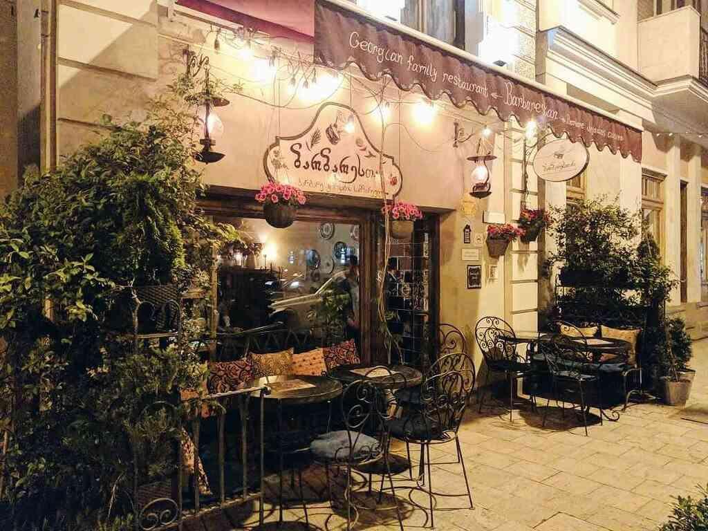 Barbarestan, Тбилиси, Грузия, кафе и рестораны Тбилиси
