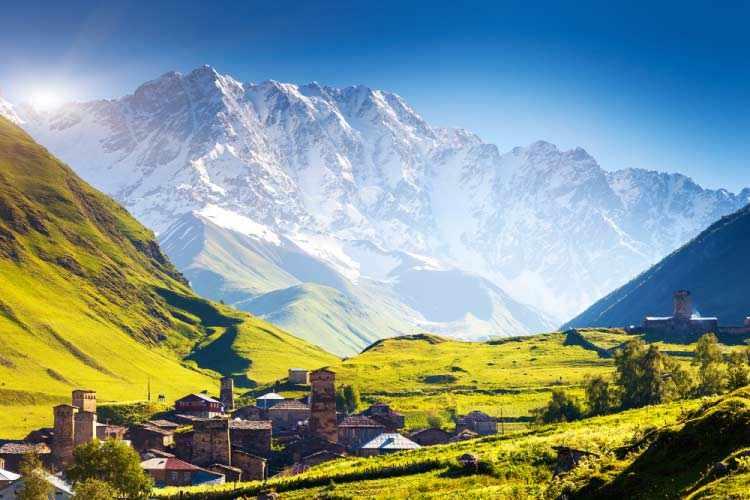 Кавказ, Горы Грузии, Грузия
