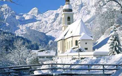зимний монастырь Бодбе, Кахетия, Грузия