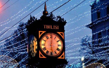 Новый год в Грузии, Новогодняя Грузия, Тбилиси, Новый год в Тбилиси