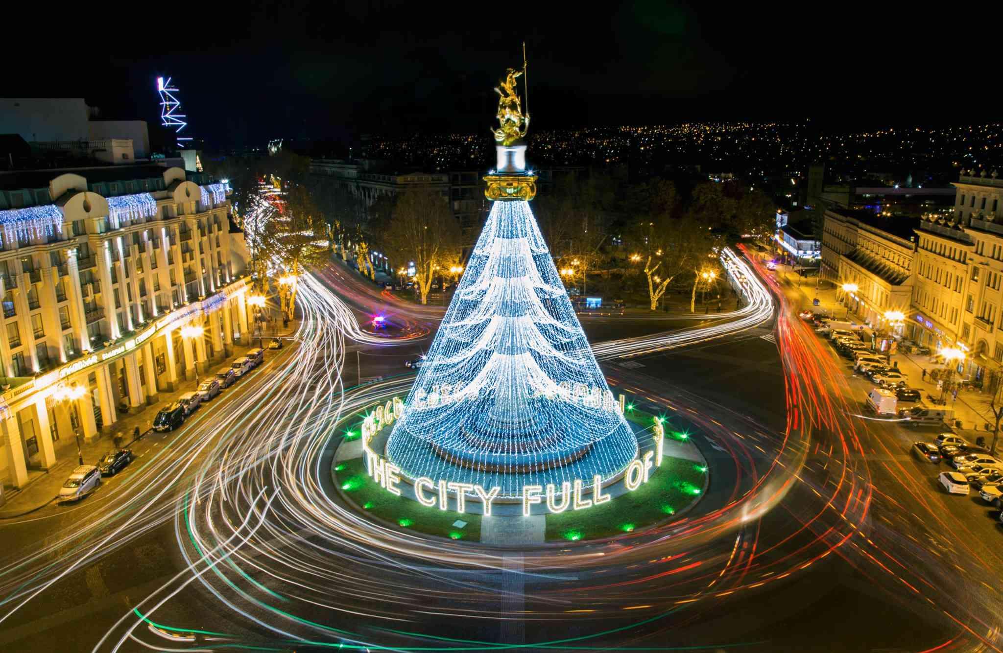 Новогодний Тбилиси 2019