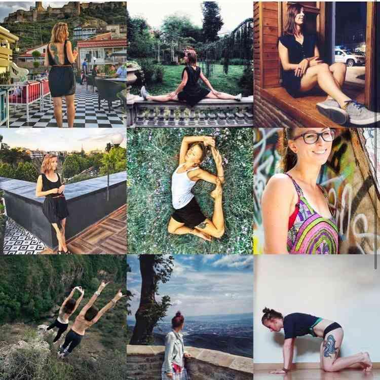 Анастасия Продан, йога-мастер