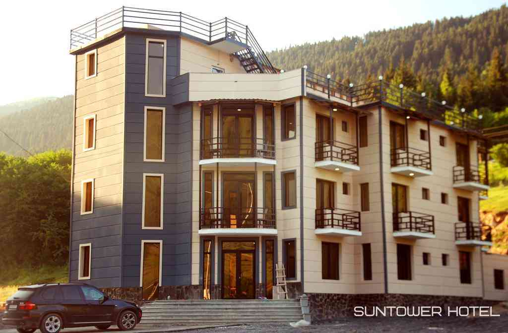Suntower Hotel, Отели Местии, Грузия